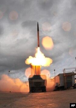 萨德系统导弹