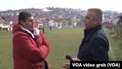 Arbnor Morina u razgovoru sa reporterom Glasa Amerike Budimirom Ničićem