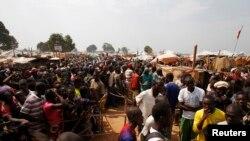 Personnes déplacées dans Bangui
