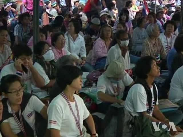 Protesters Dismiss Thai Elections