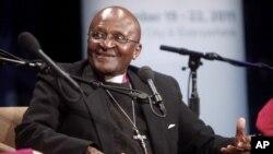 Babban fada, Archbishop Desmond Tutu, tsohon shugaban darikar Anglican na Afirka ta Kudu