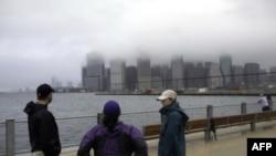 Нью-Йорк после «Айрин»