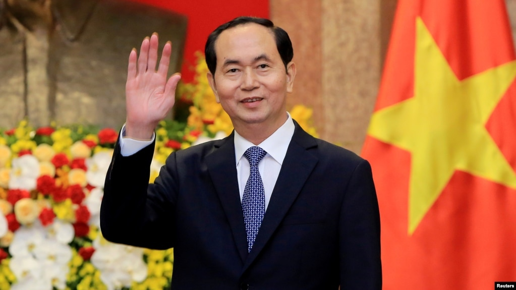 Image result for Vietnam President Tran Dai Quang passes away at 61