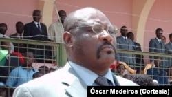 Óscar Sousa, ministro da Defesa e Ordem Interna, São Tomé e Príncipe