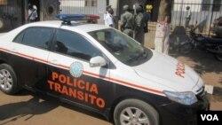 Polícia deteve um suspeito