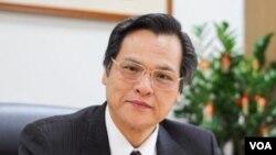 台灣行政院陸委會新任主委陳明通。