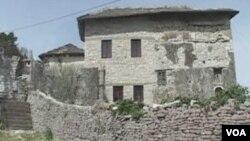 Albanian town Gjirokaster