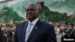 Mokgweetsi Masisi, président du Botswana.