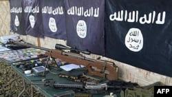 Material apreendido ao Estado Islâmico