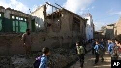 Кабул. Афганистан. 26 октября 2015 г