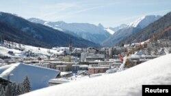 Містечко Давос у Швейцарії