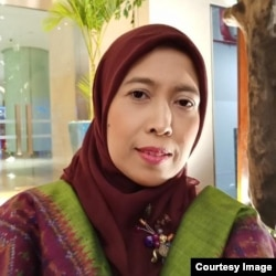 Badriyah Fayumi, Ketua Kongres Ulama Perempuan Indonesia (foto: courtesy)