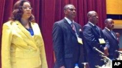 Membros da direcção do partido CASA-CE em Angola (Arquivo)