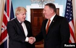 AQSh Davlat kotibi Mayk Pompeo va Britaniya Tashqi ishlar vaziri Boris Jonson