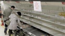 فروشگاه های خالی از مواد غذایی