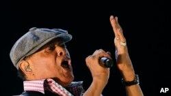 Al Jarreau, no Rock in Rio, em 2015.