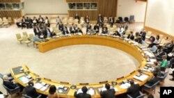聯合國安理會三月十七日在紐約總部開會情況