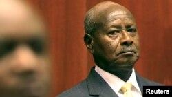 Yoweri Museveni, président de l'Ouganda