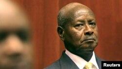 Yoweri Museveni président de l'Ouganda