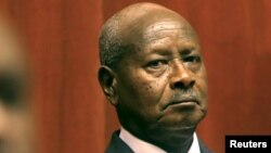Yoweri Museveni, président de l'Ouganda (Reuters)