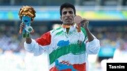 پیمان نصیری دونده ایرانی در مسابقات پارالمپیک ریو ۲۰۱۶