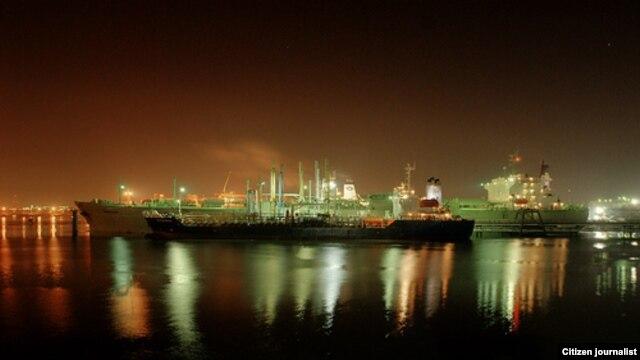 Shipping industry employs many people in Houston.