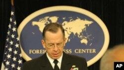 美军参谋长联席会议主席海军上将马伦