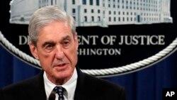 Mueller dijo el 29 de mayo que las políticas del Departamento de Justicia significaban que la investigación nunca terminaría con cargos criminales contra Trump.