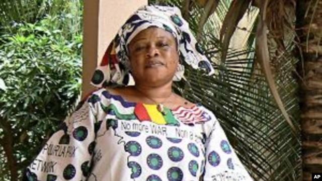 Dicko Aminata Traore, president of the Manu River Women Peace Network, in Bamako, Mali, 29 Jul 2010