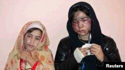 아프간 염산테러 피해자의 안타까운 사연