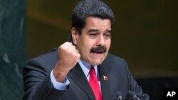 El presidente Maduro se dirige a la 69a. sesión de la Asamblea General de la ONU. Él y su comitiva han sido acusados de despilfarro.