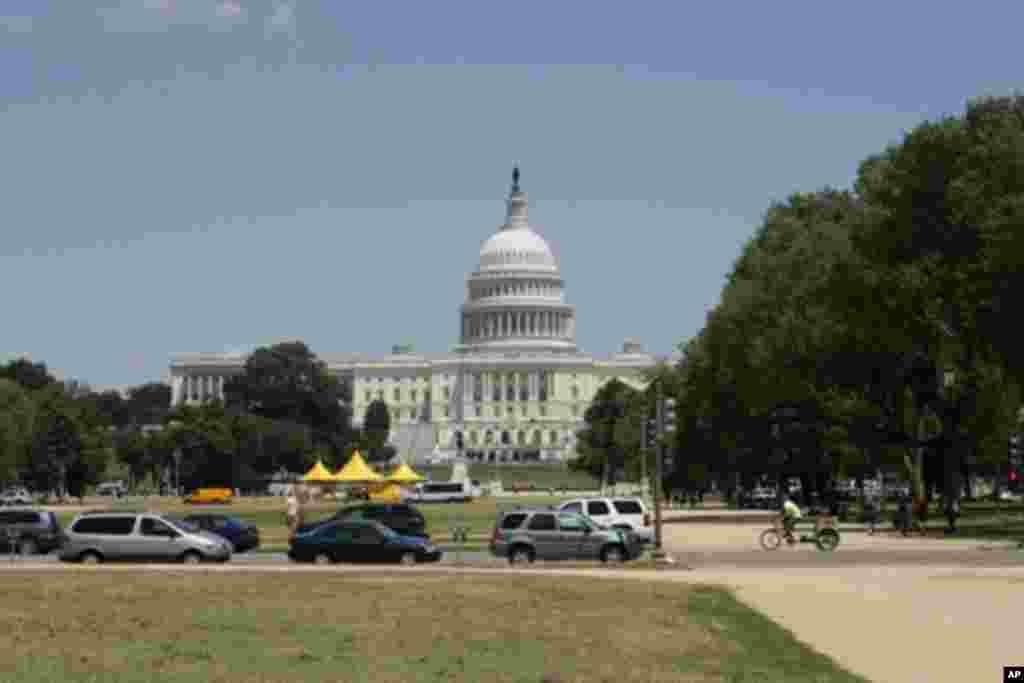 美國首都華盛頓國家大草坪