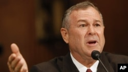 FILE - Chairman of the Subcommittee on Europe, Eurasia and Emerging Threats Dana Rohrabacher.
