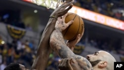 Hawks Versus Pacers Basketball