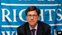 Jose Miguel Vivanco, director del organismo para América Latina, defendió un cambio en las políticas con las que se combate el problema de las drogas en la región.
