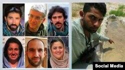 تعدادی از فعالان زیست محیطی بازداشت شده