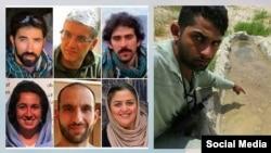 تعدادی از فعالان محیط زیست ایران که بازداشت شده اند - آرشیو