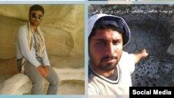 دو تن از فعالان محیط زیست که در بندرلنگه بازداشت شدهاند.