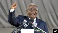 Presidente moçambicano, Armando Guebuza