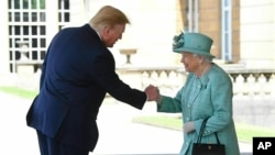 Trump's Visit to Britain