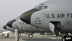 Phi cơ quân sự Mỹ tại căn cứ quân sự Manas ở Kyrgyzstan