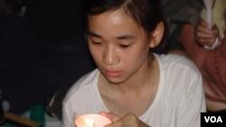 香港市民纪念六四24周年烛光晚会