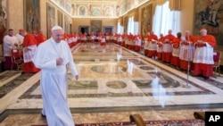 El papa Francisco viajará a Egipto el viernes, 28 de abril de 2017.