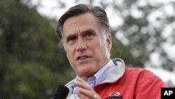 지난 14일 미국 오하이오주 페인즈빌에서 유세 중인 미트 롬니 공화당 대통령 후보.