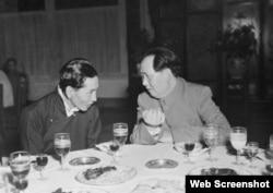 多年来,阿沛·阿旺晋美一直扮演着汉藏沟通的角色(网络截图)
