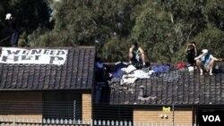 Salah satu pusat tahanan imigrasi di Australia (foto: dok.).