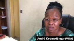 Maître Nomaye Clarisse, avocate au barreau du Tchad, le 8 mars 2020. (VOA/André Kodmadjingar).