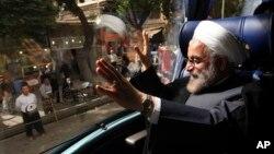 Tổng thống tân cử Iran Hasan Rowhani.