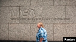 Kantor badan antariksa Amerika (NASA) di Washington DC (foto: dok).