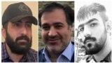 از راست: امیرحسین حاتمی، مهدی محمودیان، و امیرعباس آزرموند